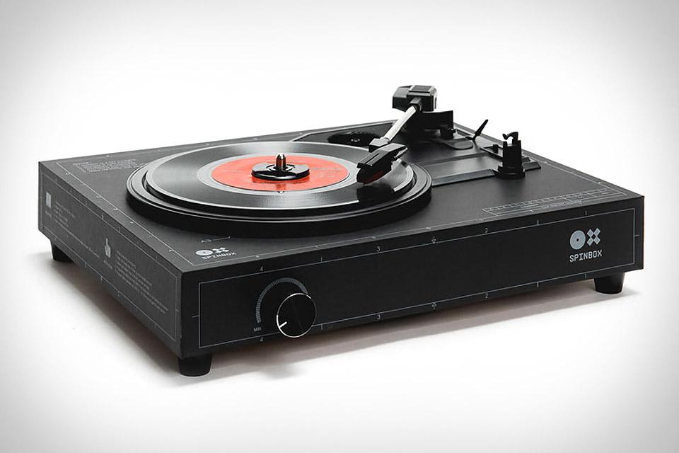 Spinbox DIY Turntable