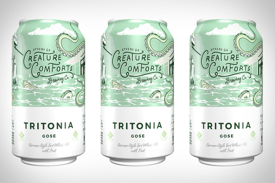 Creature Comforts Tritonia Gose Beer