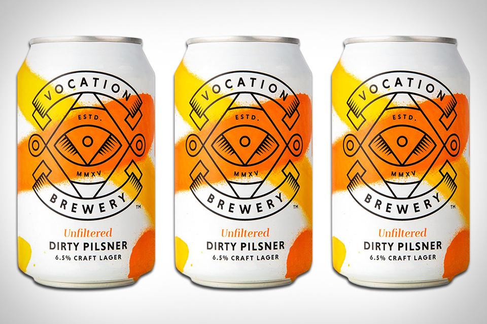 Vocation Dirty Pilsner Beer