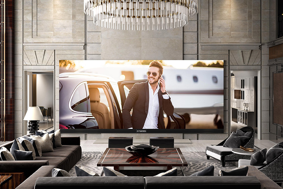 C Seed 262-inch TV