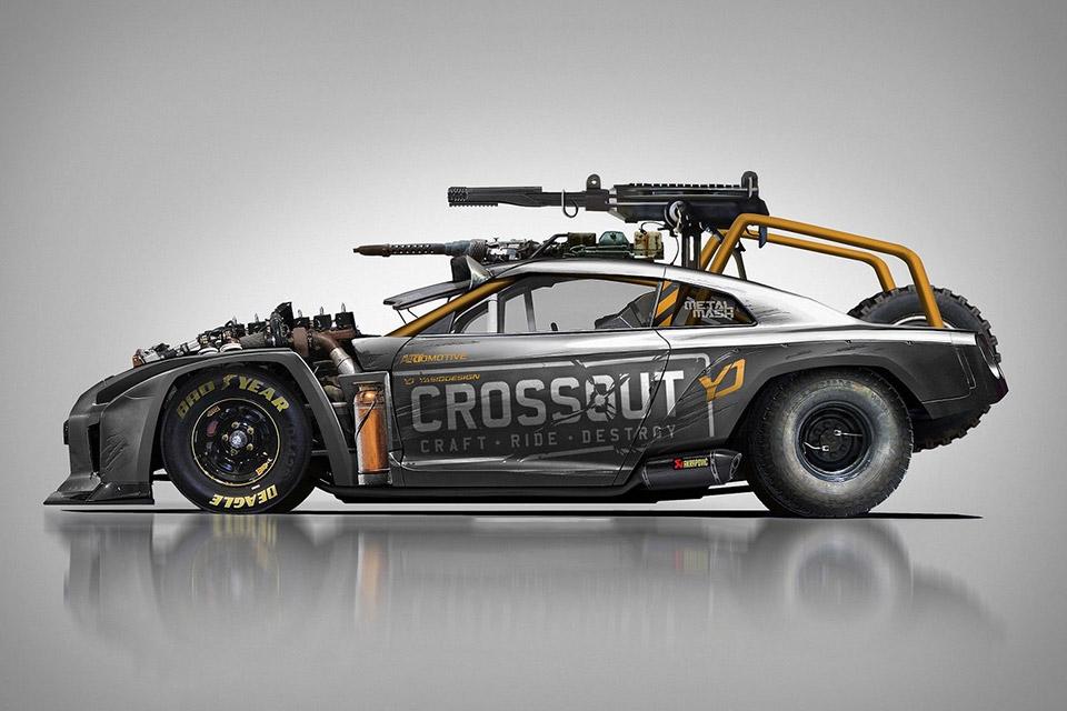Crossout Nissan GT-R