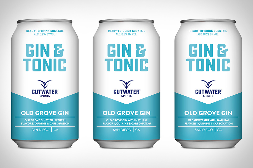 Cutwater Canned Gin & Tonic