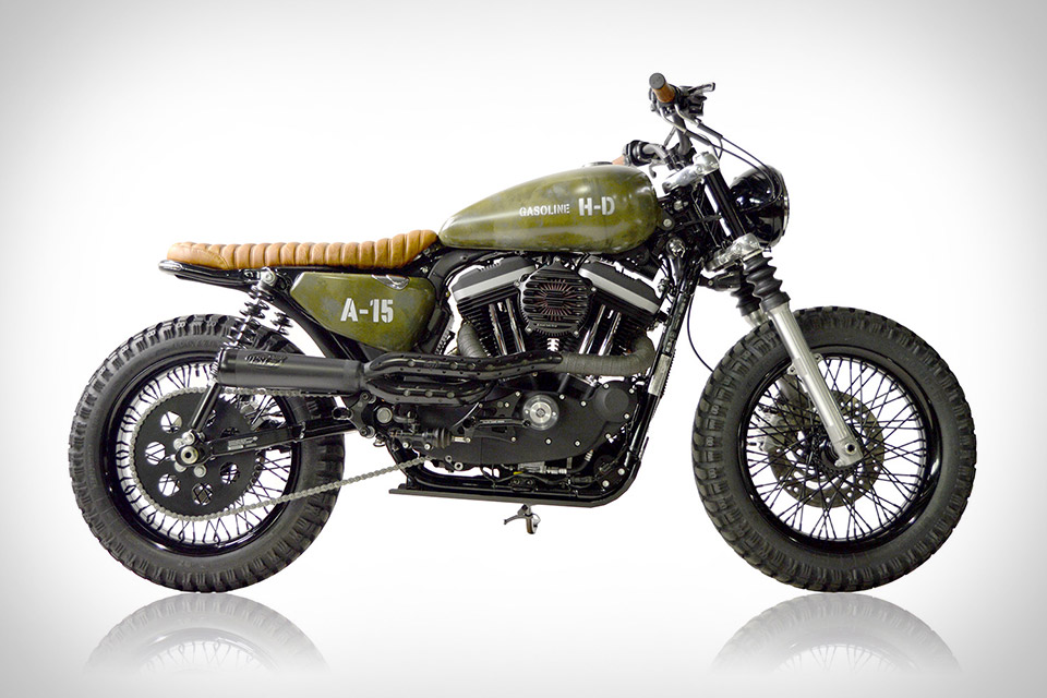 Gasoline Motor Co. Harley-Davidson Scrambler