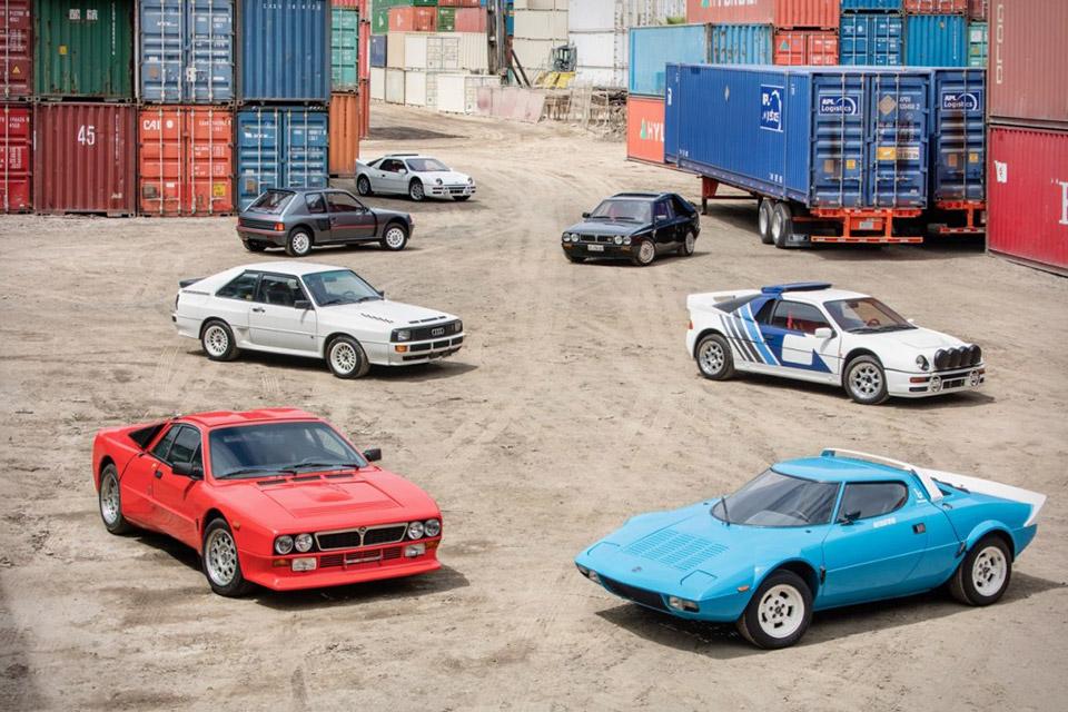 Group B Rally Car Collection