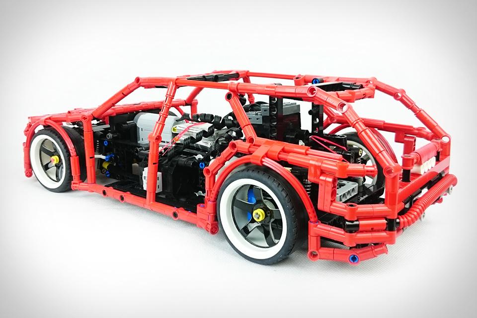 Lego Technic Drift Wagon Uncrate