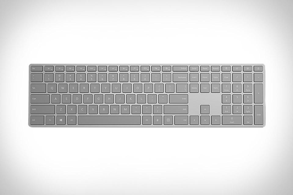 Microsoft Fingerprint Keyboard