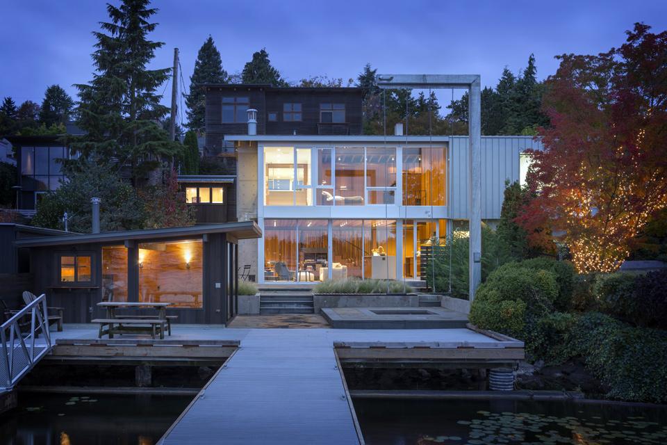 Portage Bay House