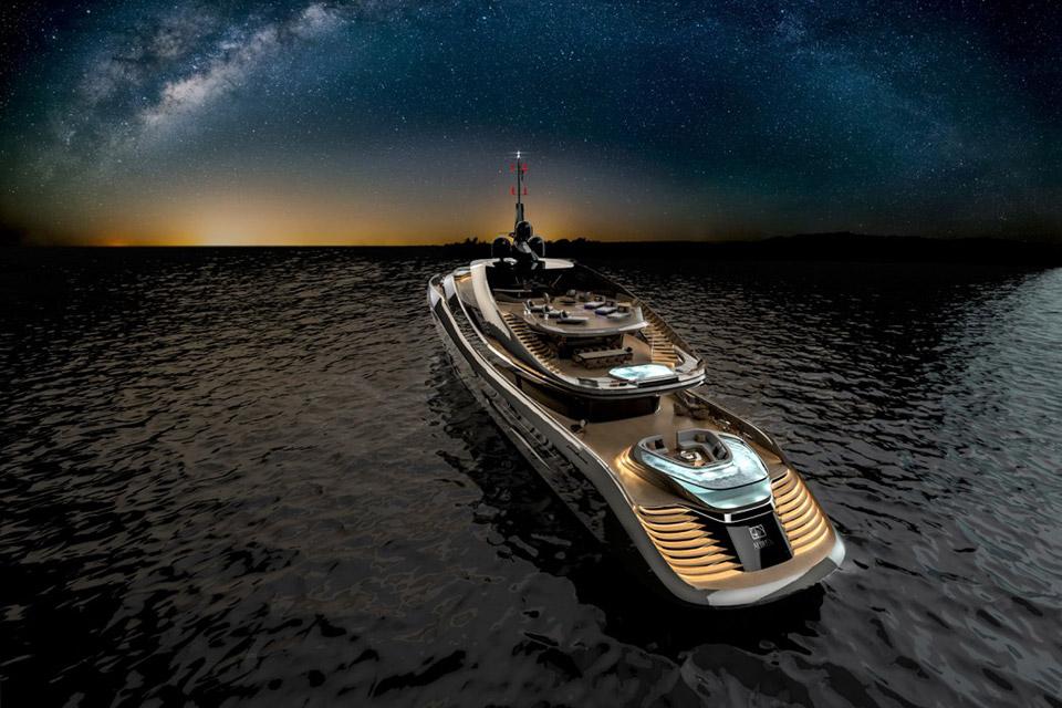 Rossinavi x Pininfarina Aurea Yacht