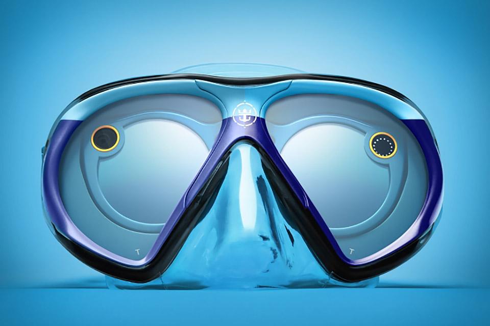 SeaSeeker Underwater Snapchat Scuba Mask