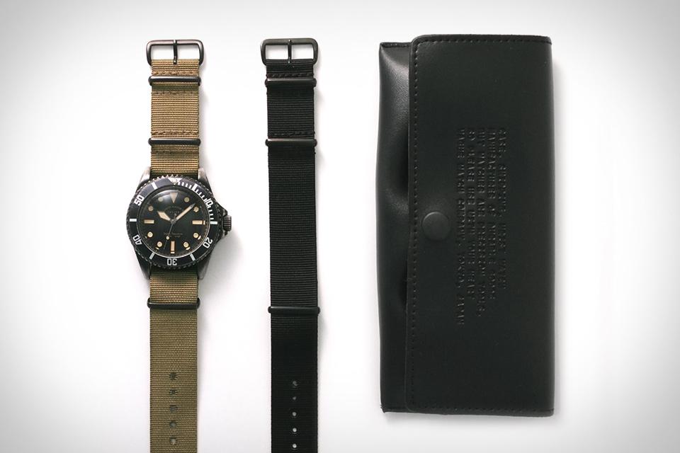 Vague Black Submariner Uhr