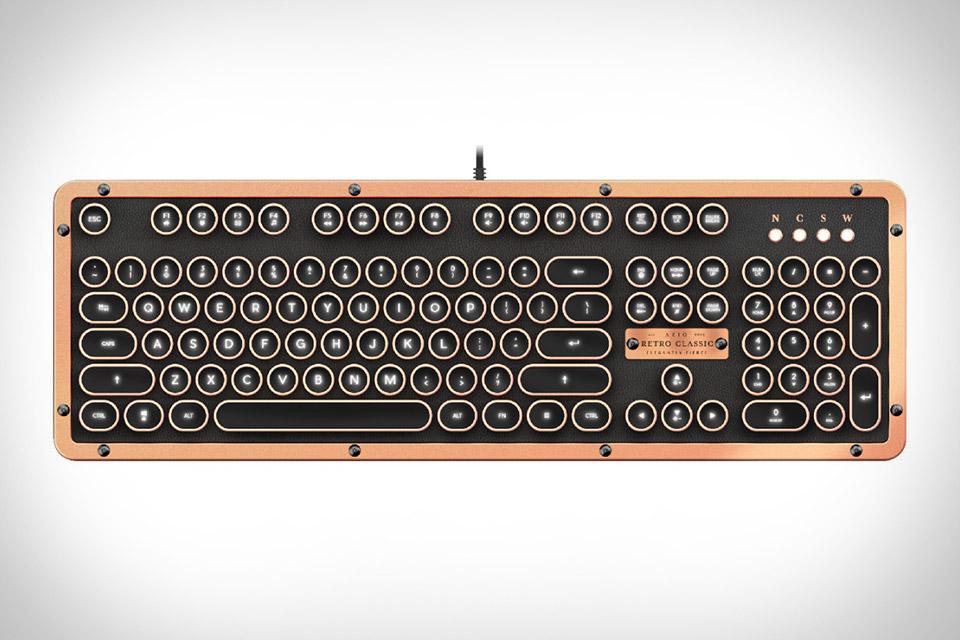 Azio Vintage Keyboard