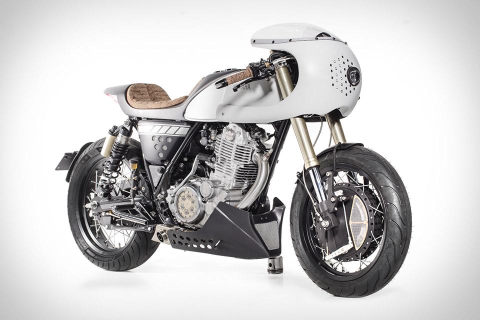 Capelo's Garage x Elemental Rides Yamaha SR400 Motorcycle