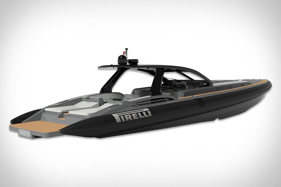 Tecnorib X Pirelli 1900 Boat Uncrate
