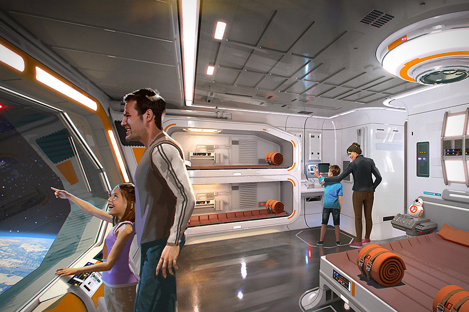 Star Wars Immersive Hotel