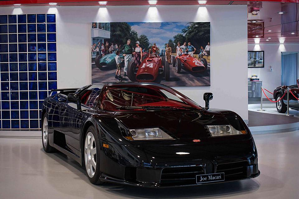 2002 Bugatti EB 110 SS