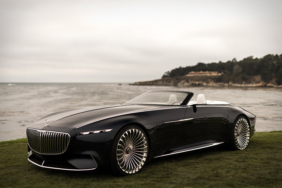 Vision Mercedes Maybach 6 Cabriolet Uncrate