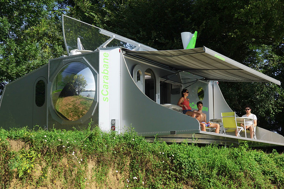 sCarabane Rotating Camper