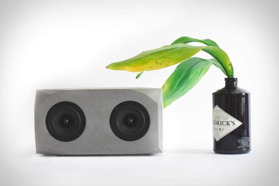 Utopia Titan Concrete Speaker