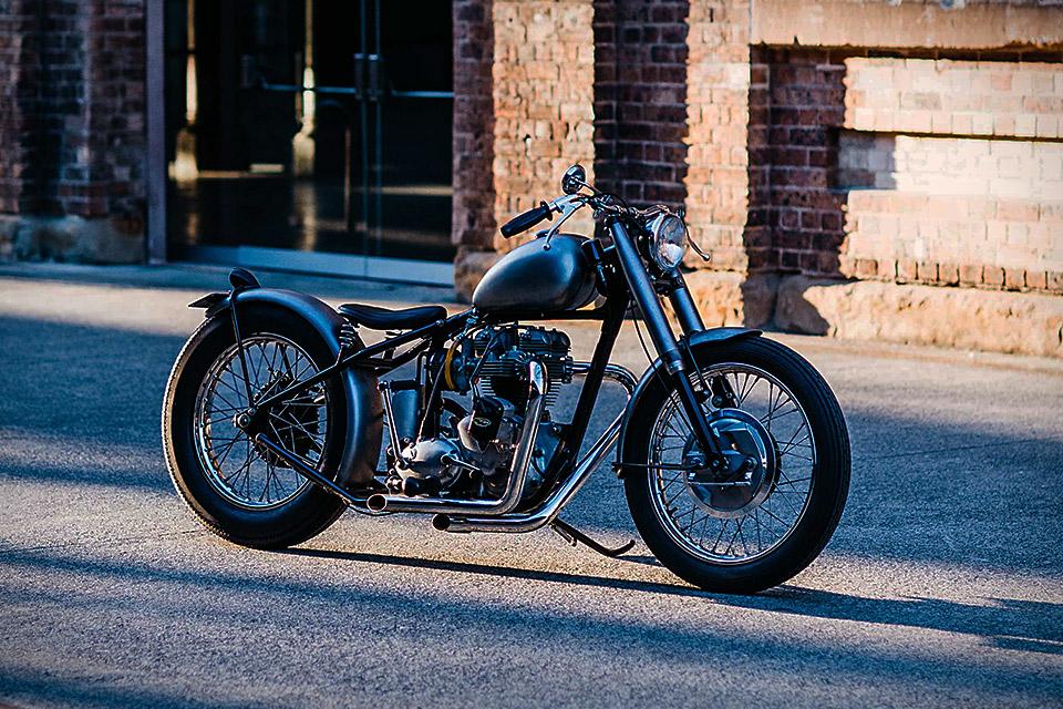 Deus Ex Machina Triumph C-Seven Motorcycle | Uncrate