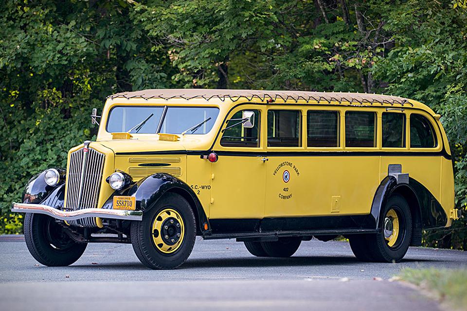 1937 Yellowstone Park Tour Bus