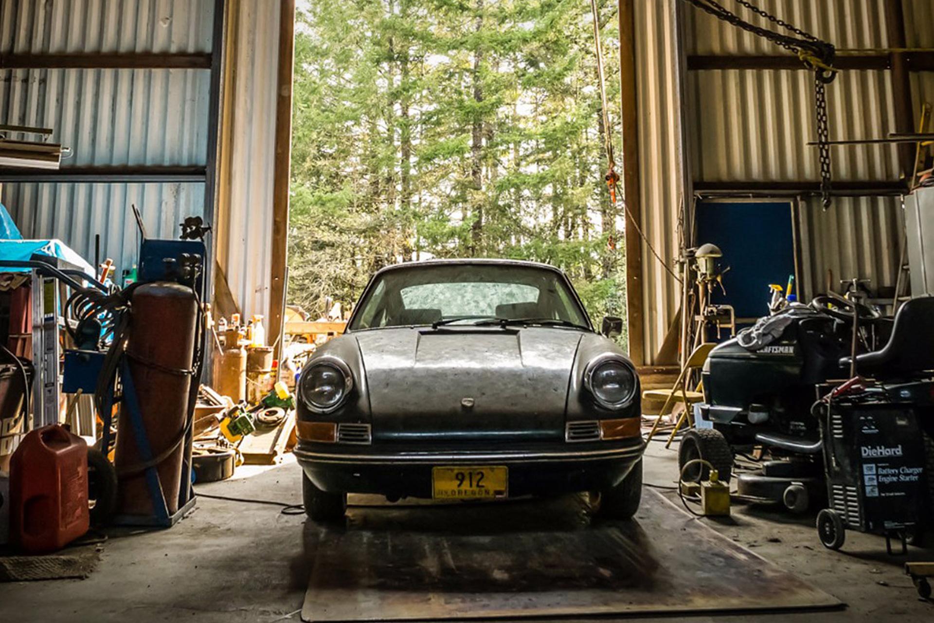 Barn Find 1969 Porsche 912