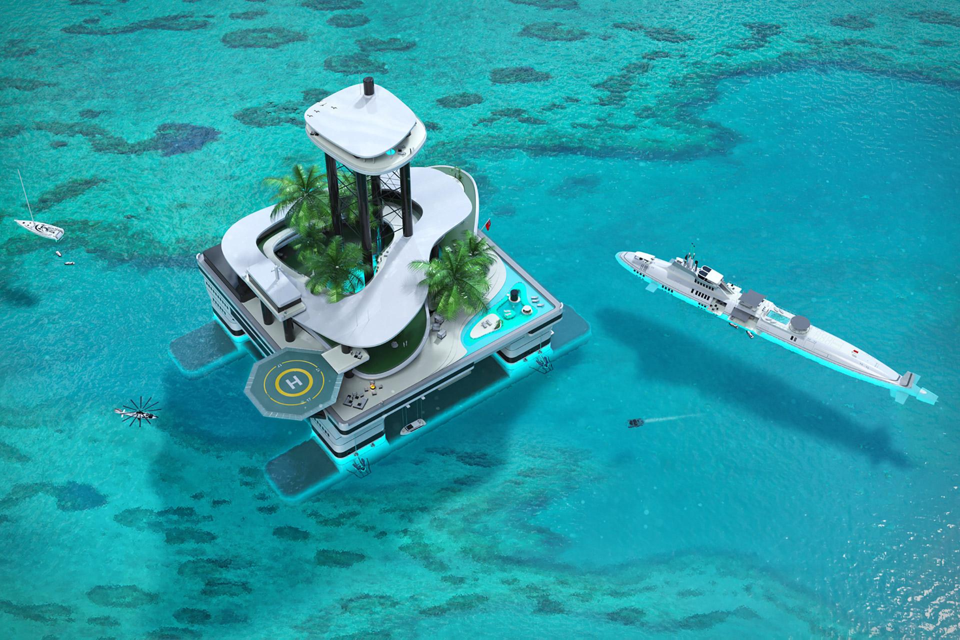 Migaloo Kokomo Ailand Floating Habitat