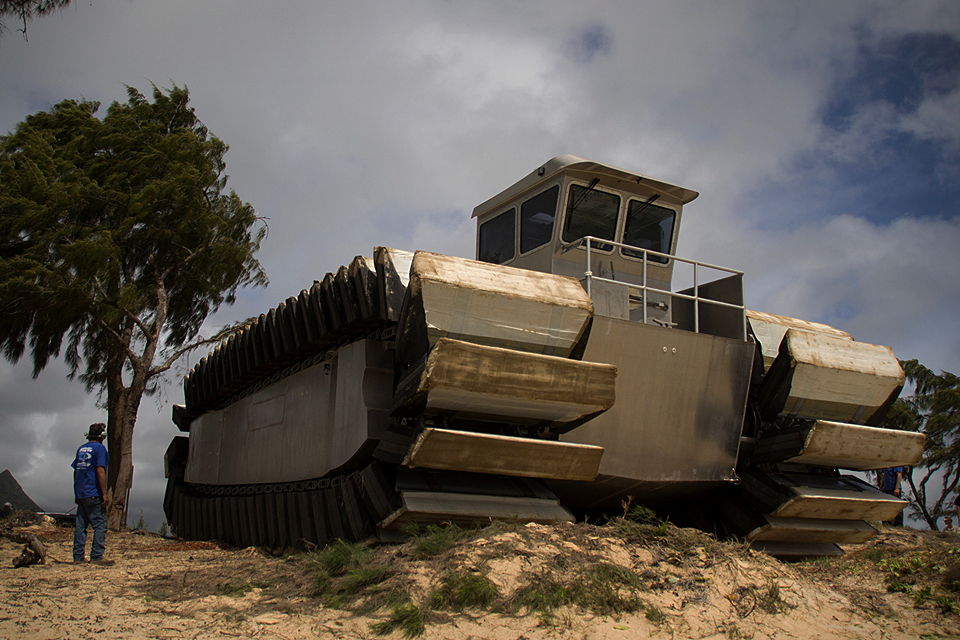 Navatek UHAC Military Vehicle