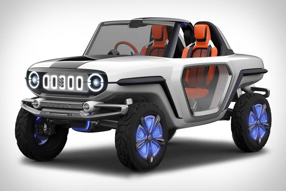 Suzuki e-Survivor SUV Concept