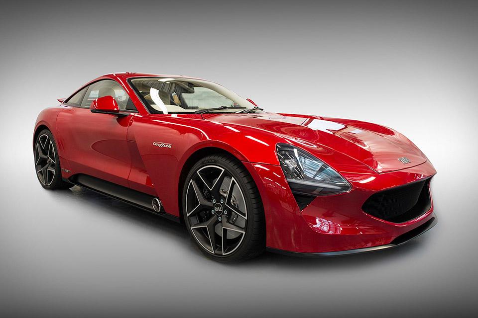 tvr griffith sports car uncrate. Black Bedroom Furniture Sets. Home Design Ideas
