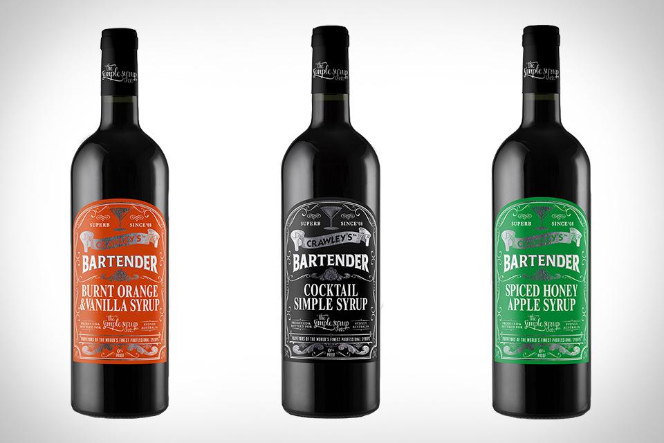 Crawley's Bartender Syrups