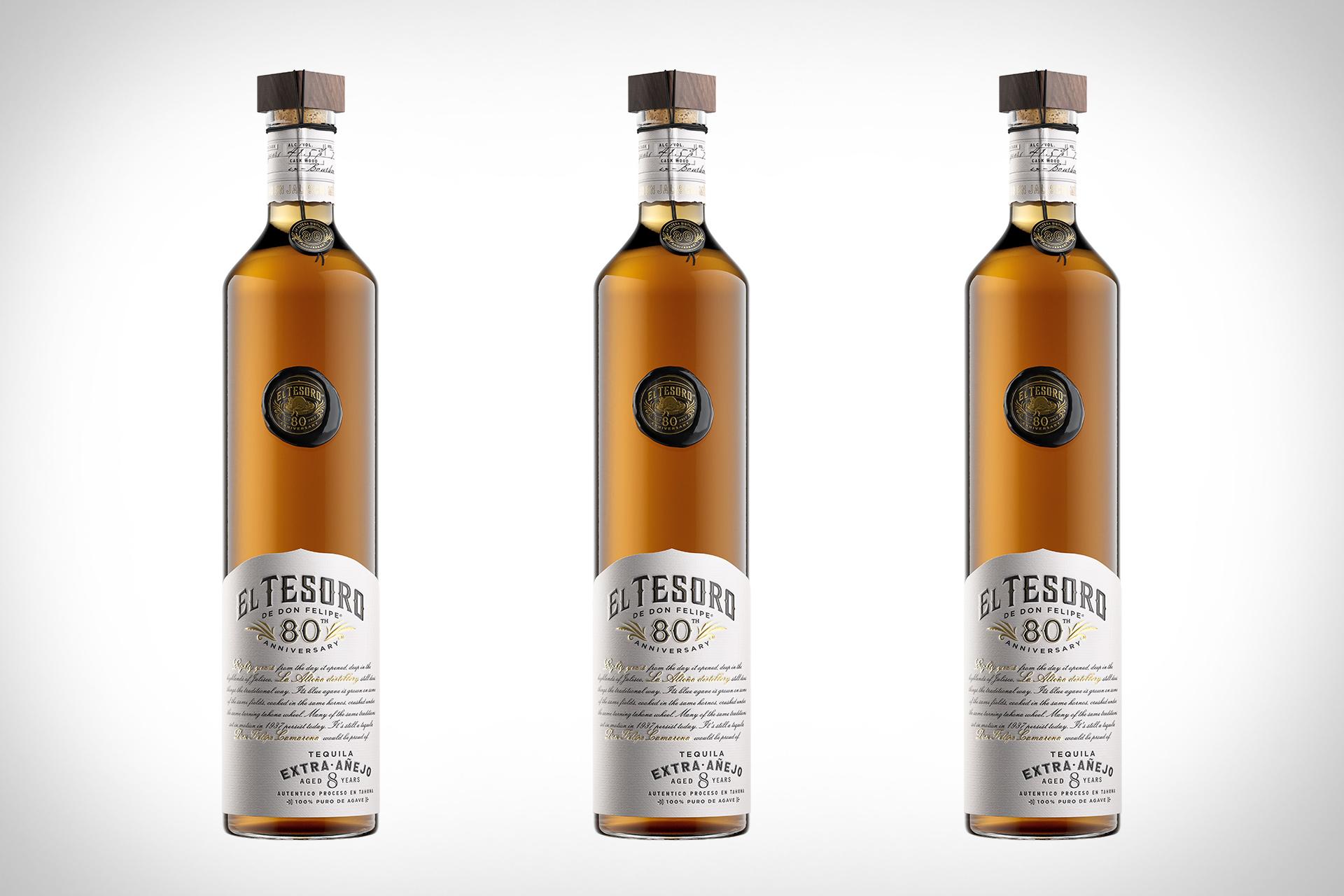 El Tesoro 80th Anniversary Tequila