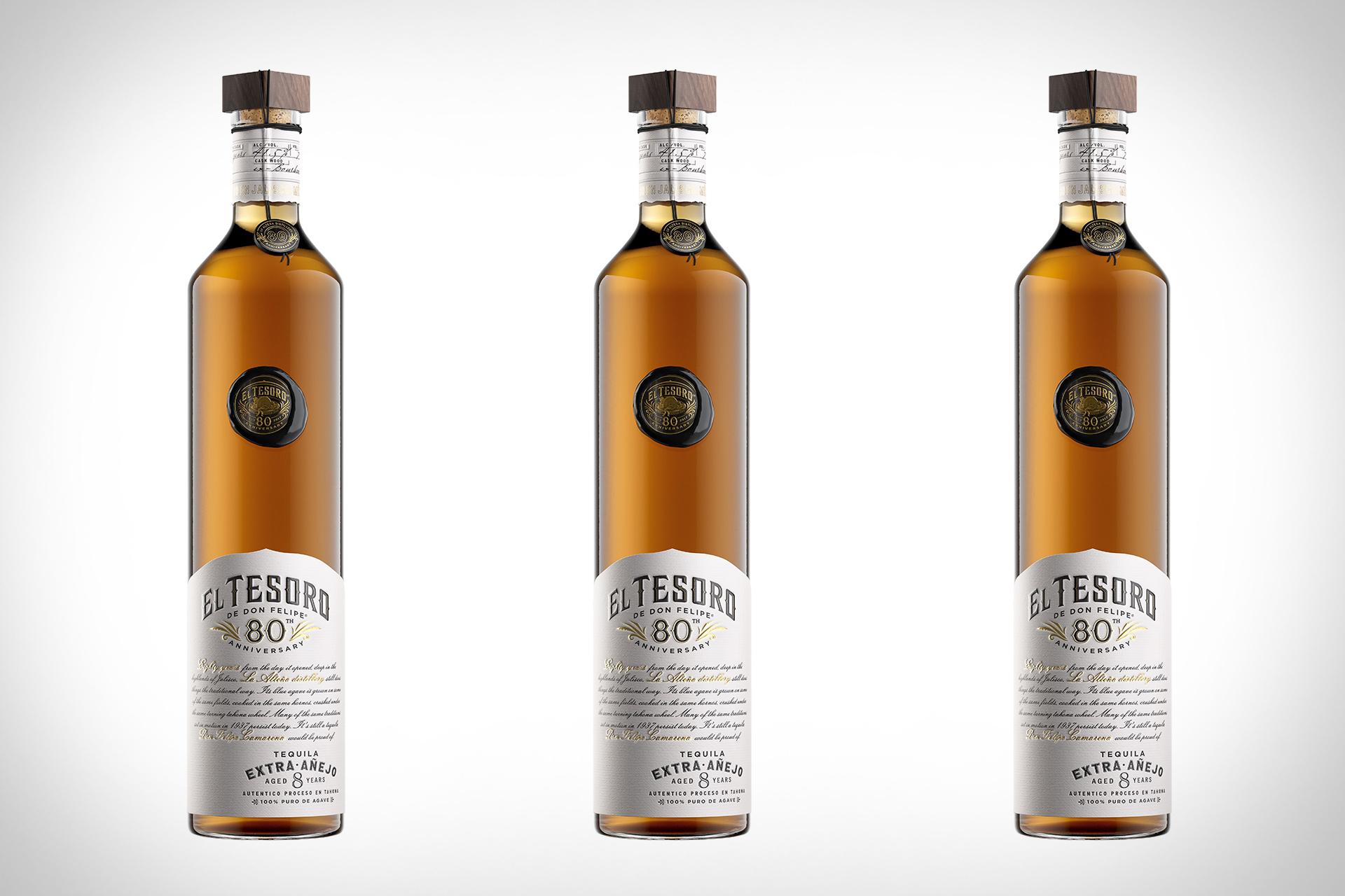 El Tesoro Tequila zum 80-jährigen Jubiläum