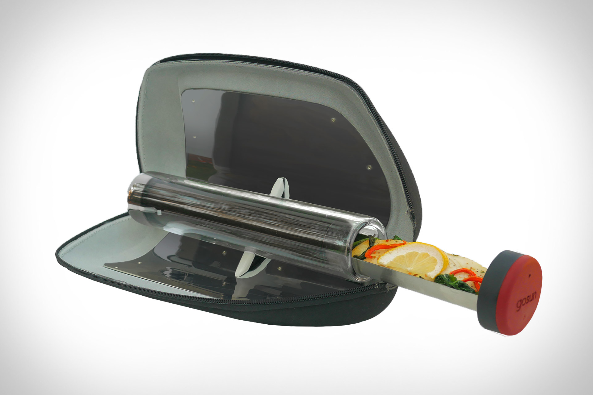 Solar Powered Grill ~ Gosun go solar stove uncrate