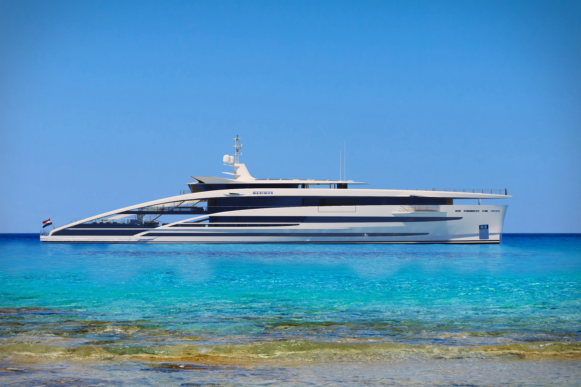 Heesen Project Maximus Yacht