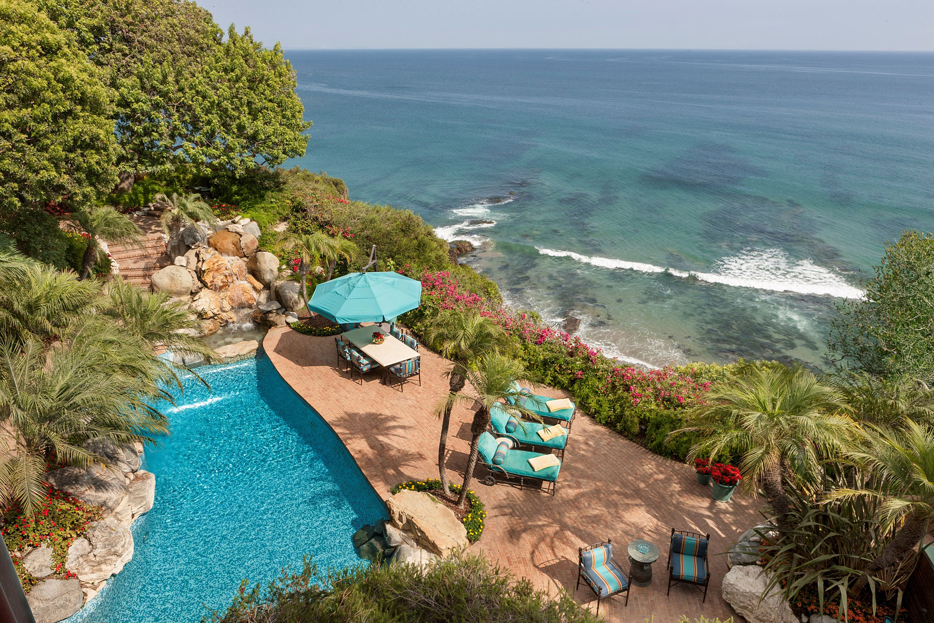 Johnny Carson's Malibu Estate