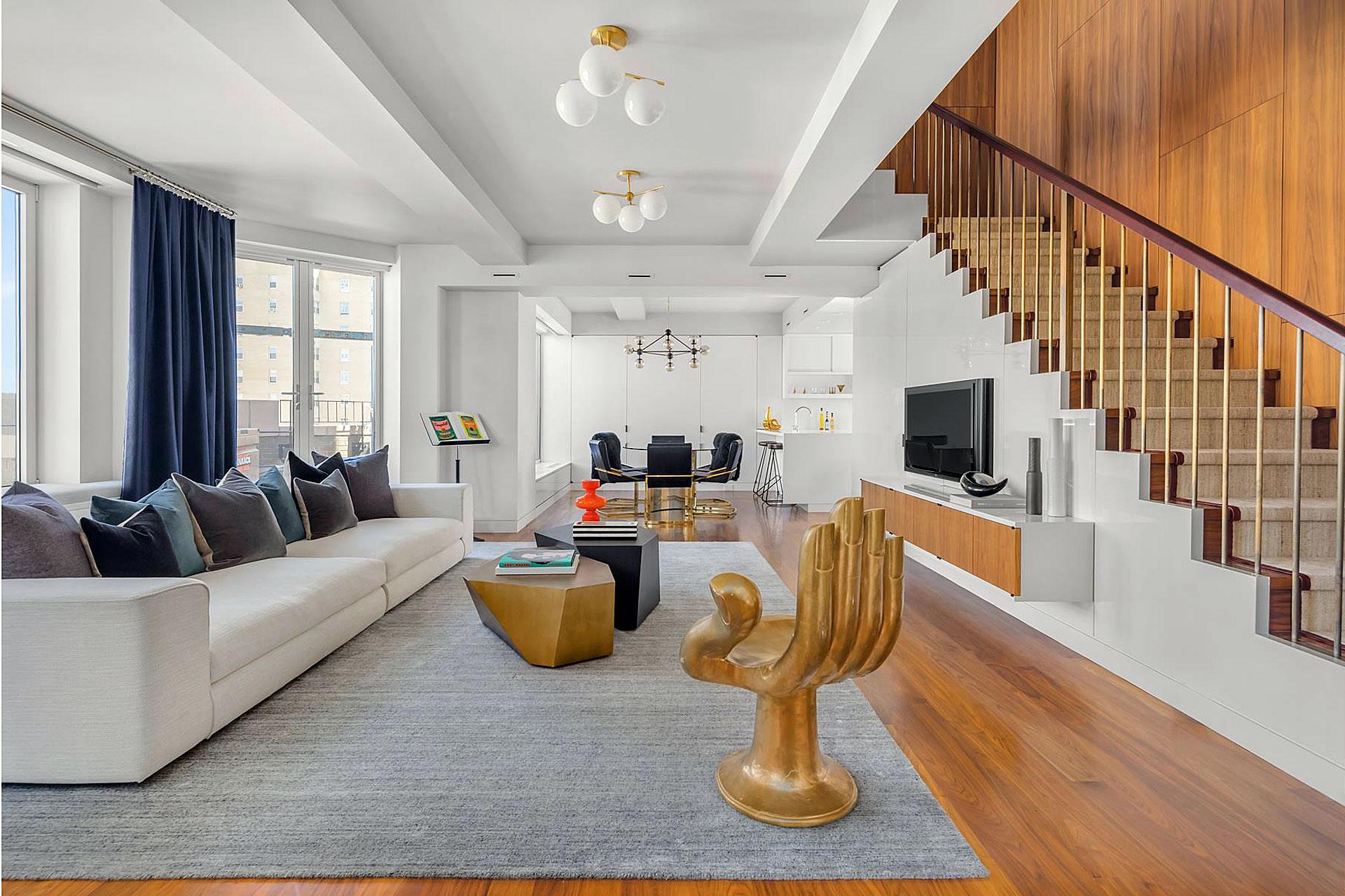 Keith Richard's Greenwich Village Penthouse