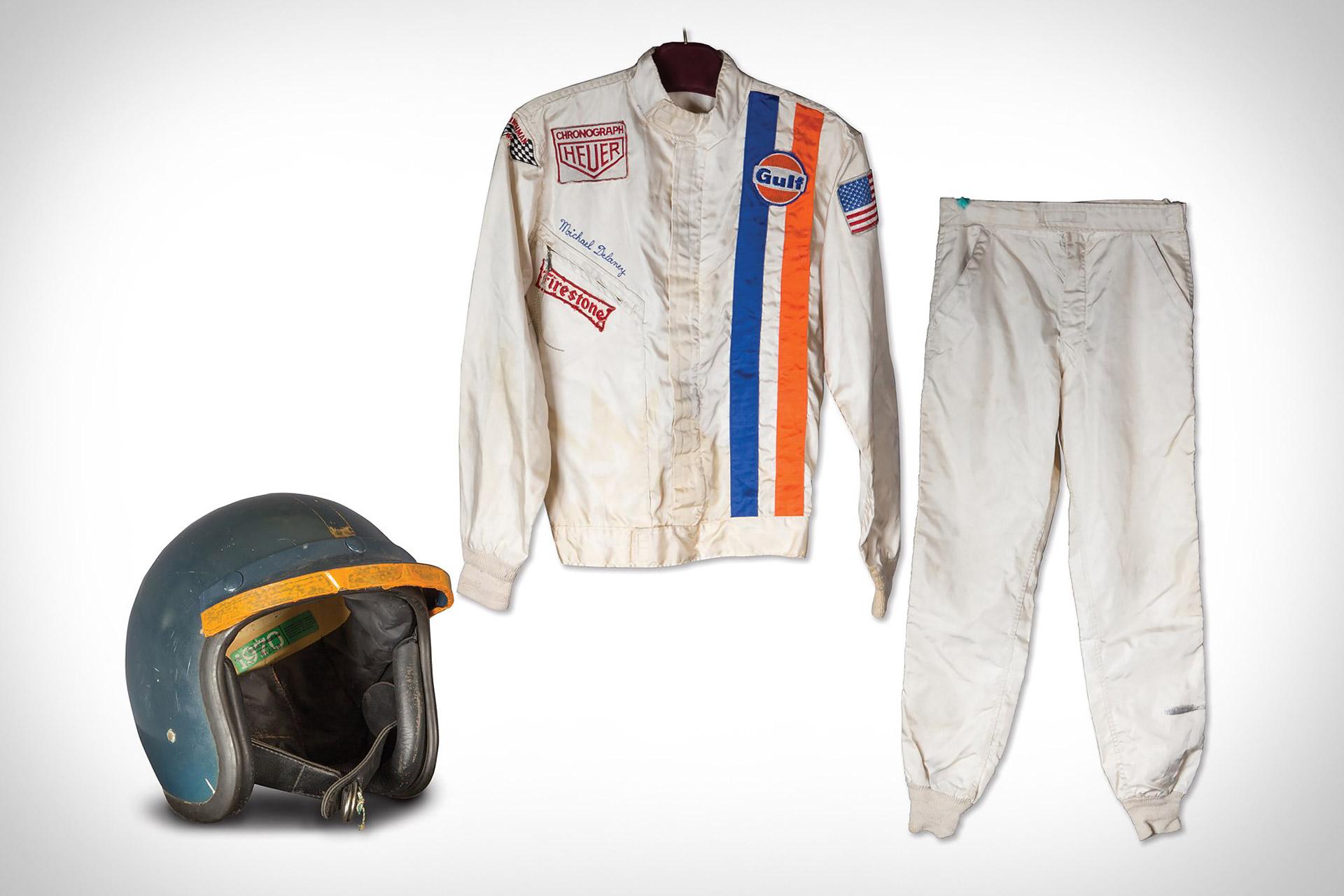 スティーブ・マックイーン 「栄光のル・マン」のレーシングスーツ