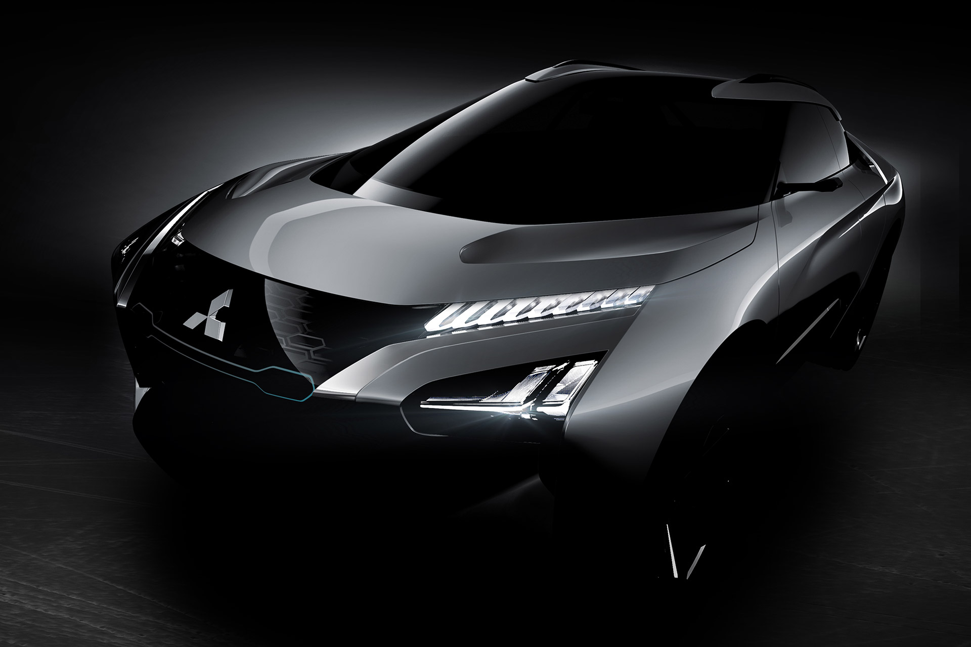 Mitsubishi e-Evolution Concept