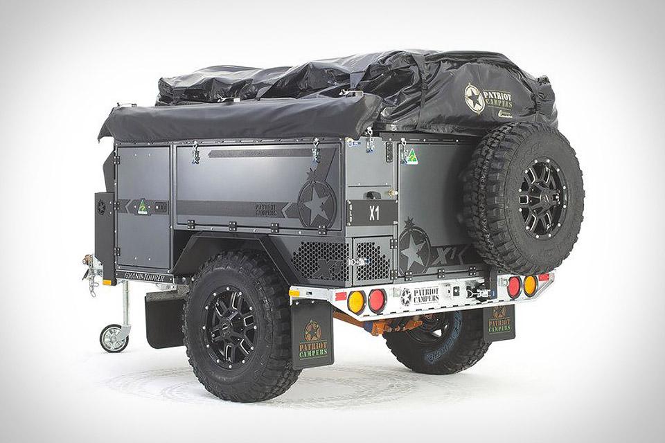 La Remorque X1 Adventure de Patriot Campers