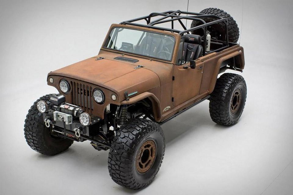 Rusted Terra Crawler SUV
