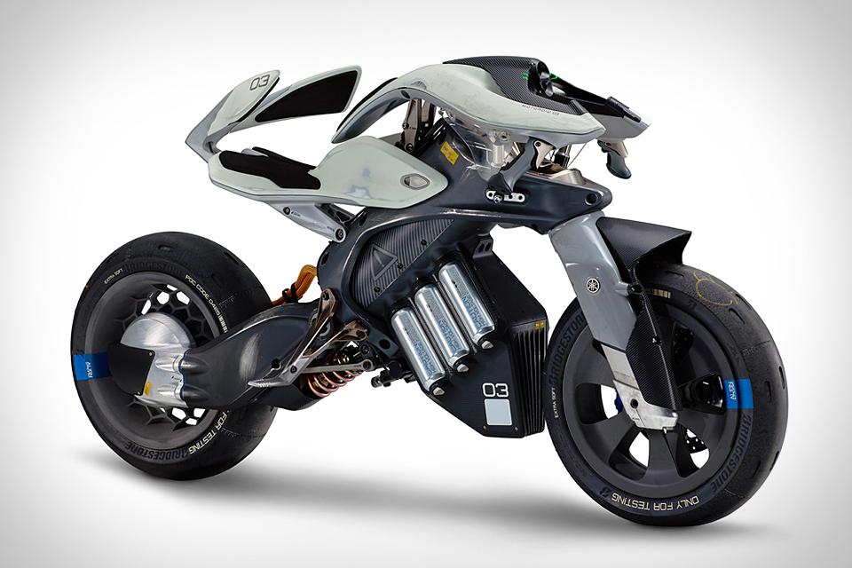 Yamaha Motodroid Motorcycle