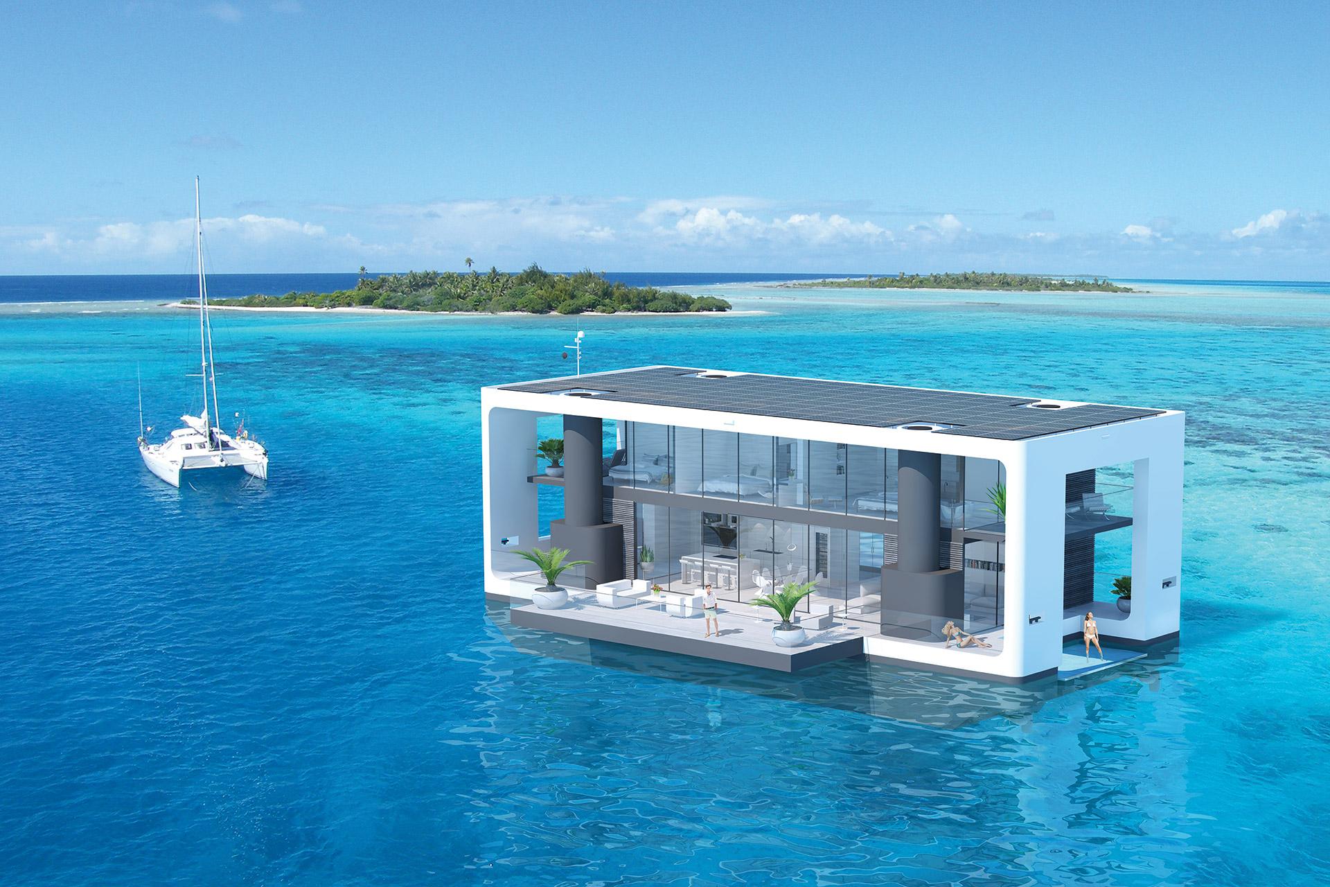 Arkup Mobile Overwater Villas