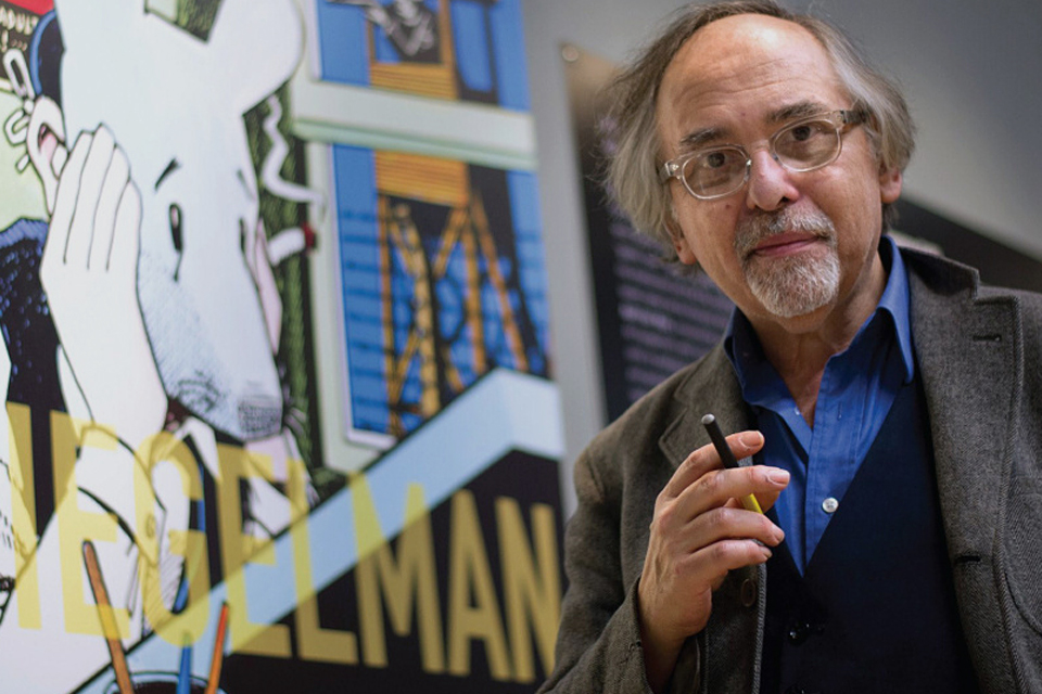 Art Spiegelman's Comic Book Layouts | Uncrate