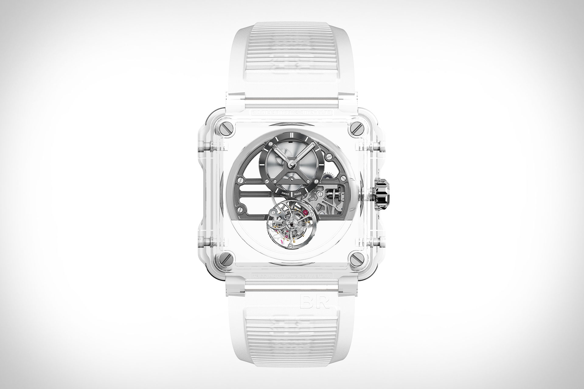 Bell & Ross BR-X1 Skeleton Tourbillon Sapphire Watch