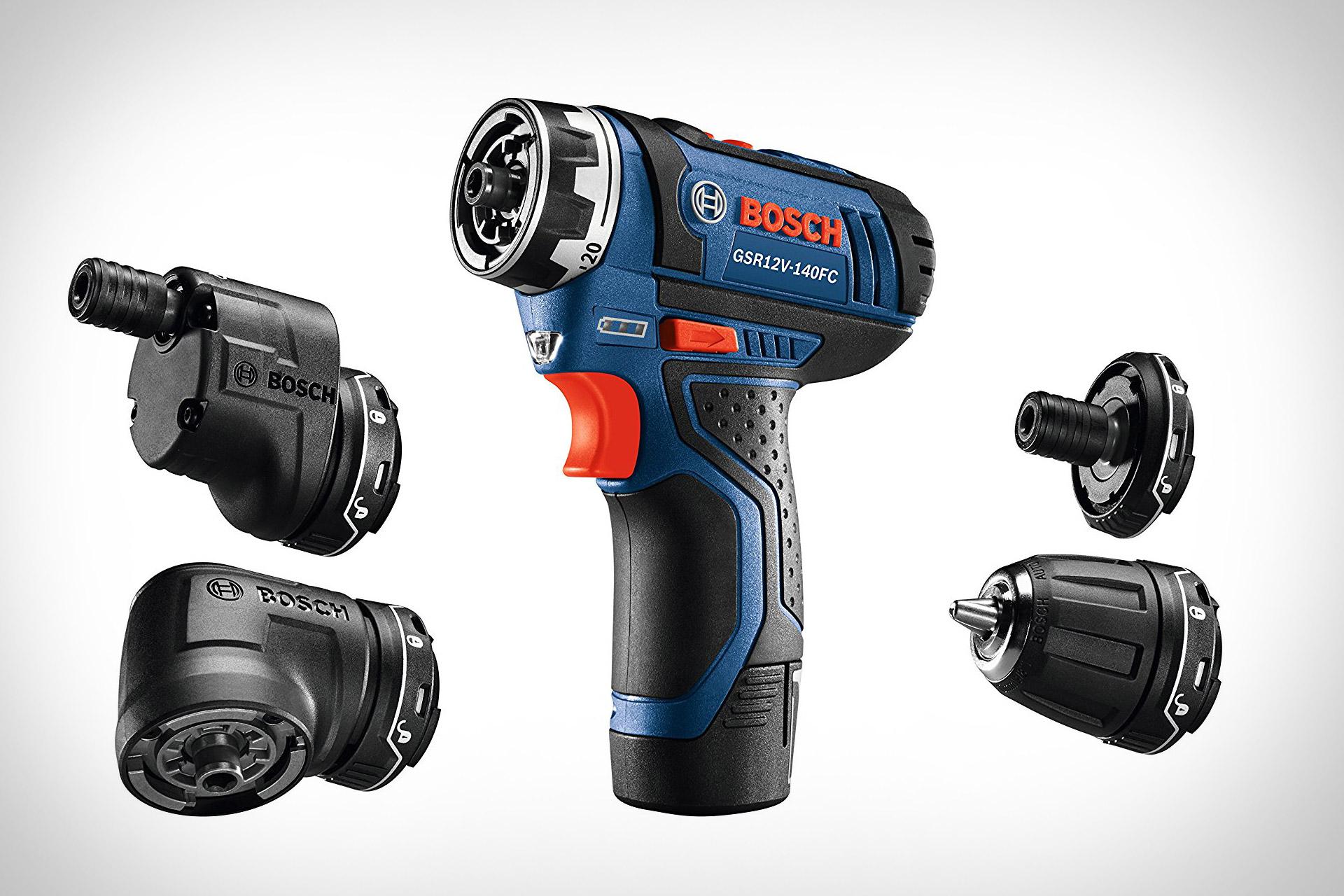 Bosch Max FlexiClick 5-In-1 Drill