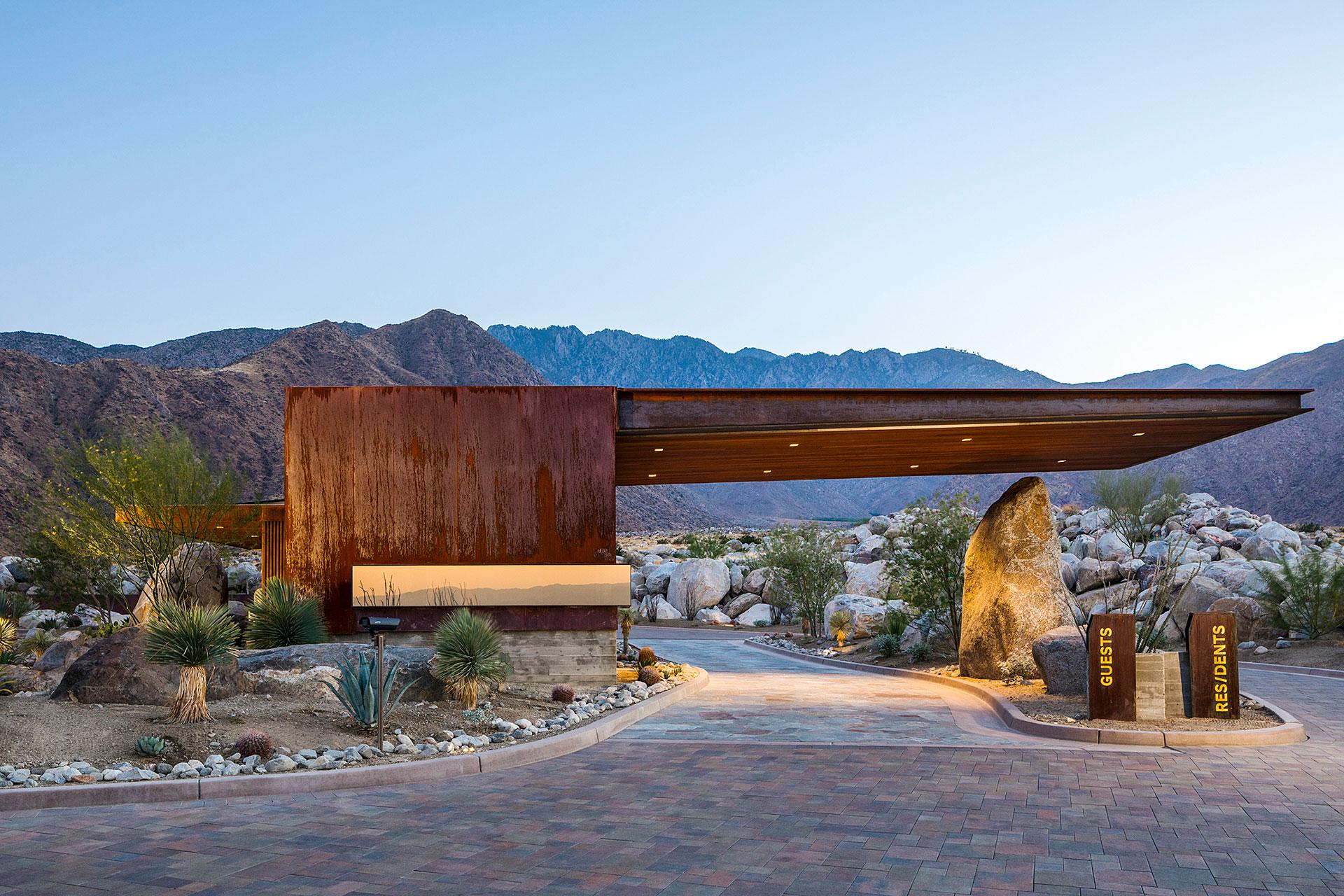 Desert Palisades Guardhouse