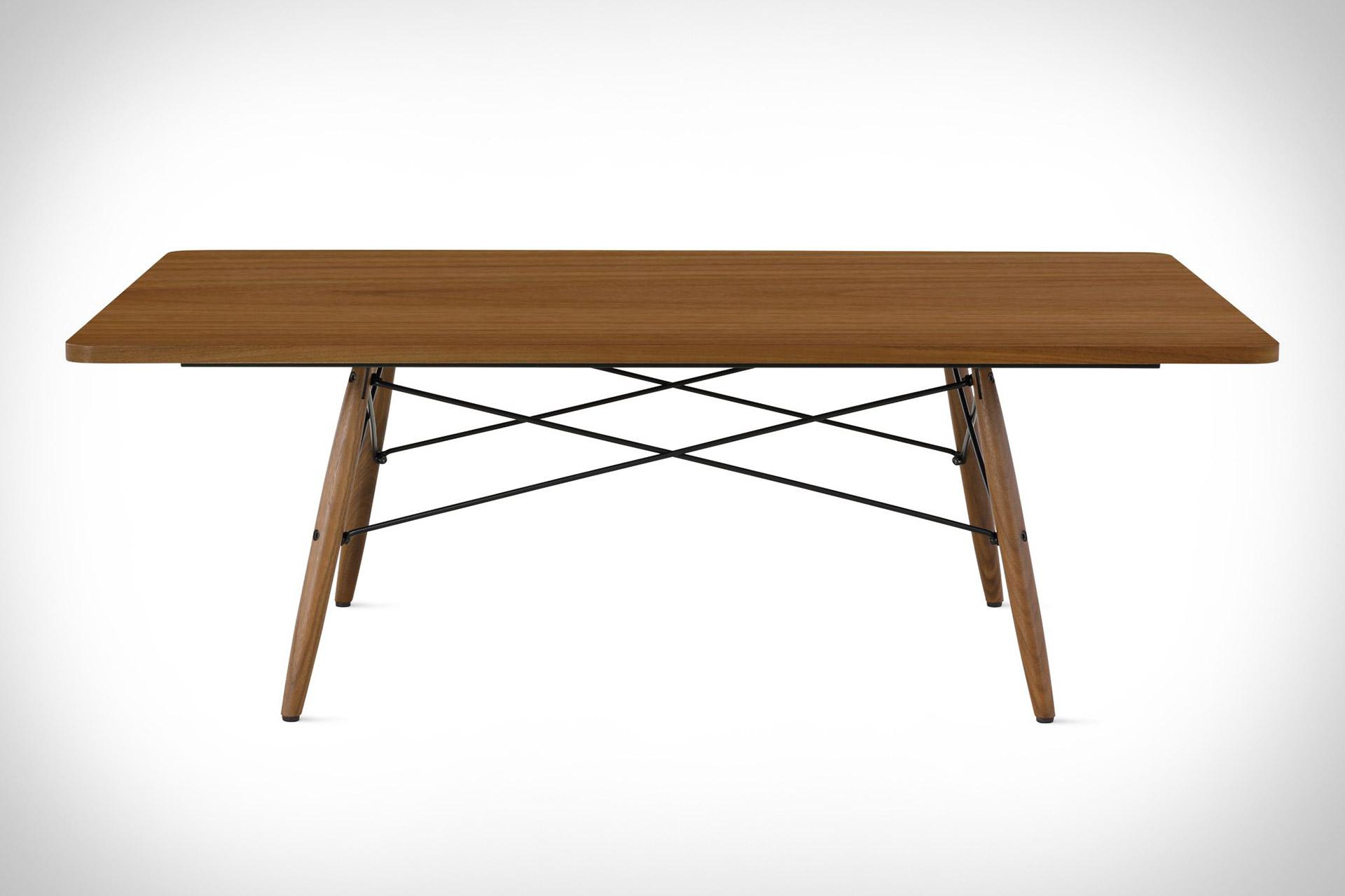 elegant table basse eames id es de conception de table basse. Black Bedroom Furniture Sets. Home Design Ideas
