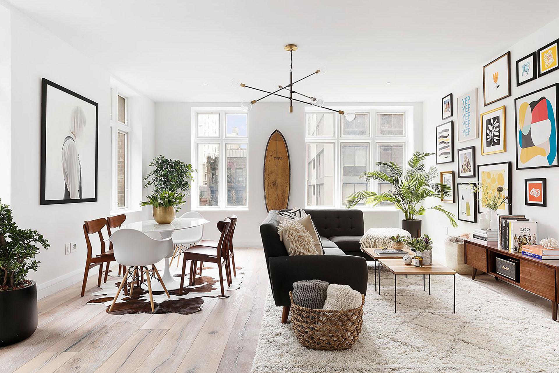 Ira Glass' Chelsea Apartment