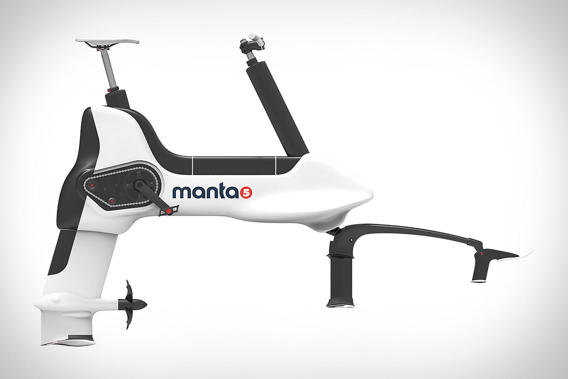 Manta5 Hydrofoil Bike
