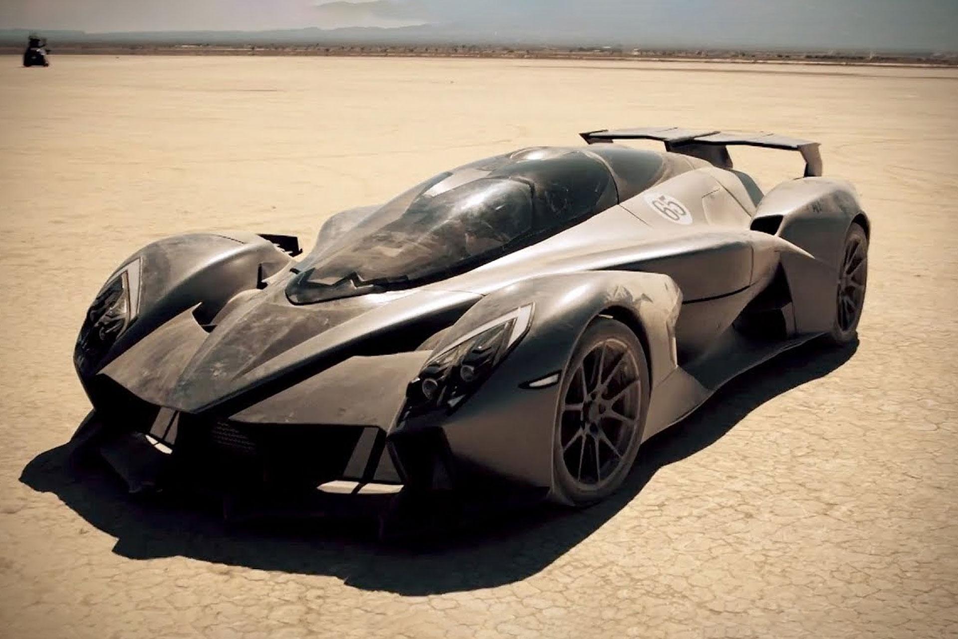 RAESR Tachyon Speed Electric Supercar